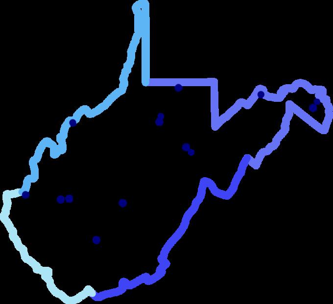 US West Virginia Shops